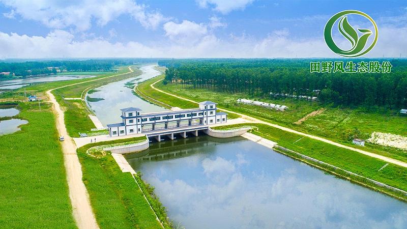 河道生态修复,边坡绿化