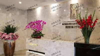 广州国际银行中心花木租赁案例