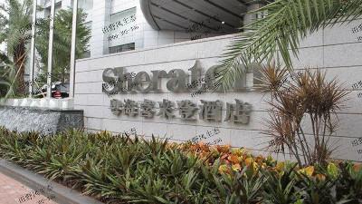 广州喜来登酒店花卉绿植租摆案例