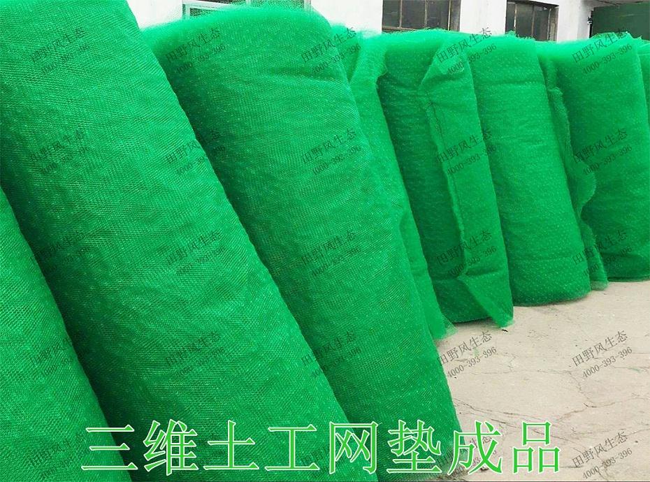 6三维土工网垫成品