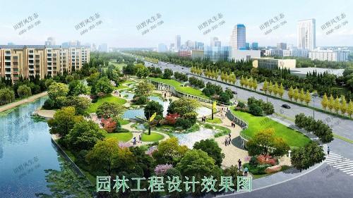 广东珠海横琴岛市政园林工程