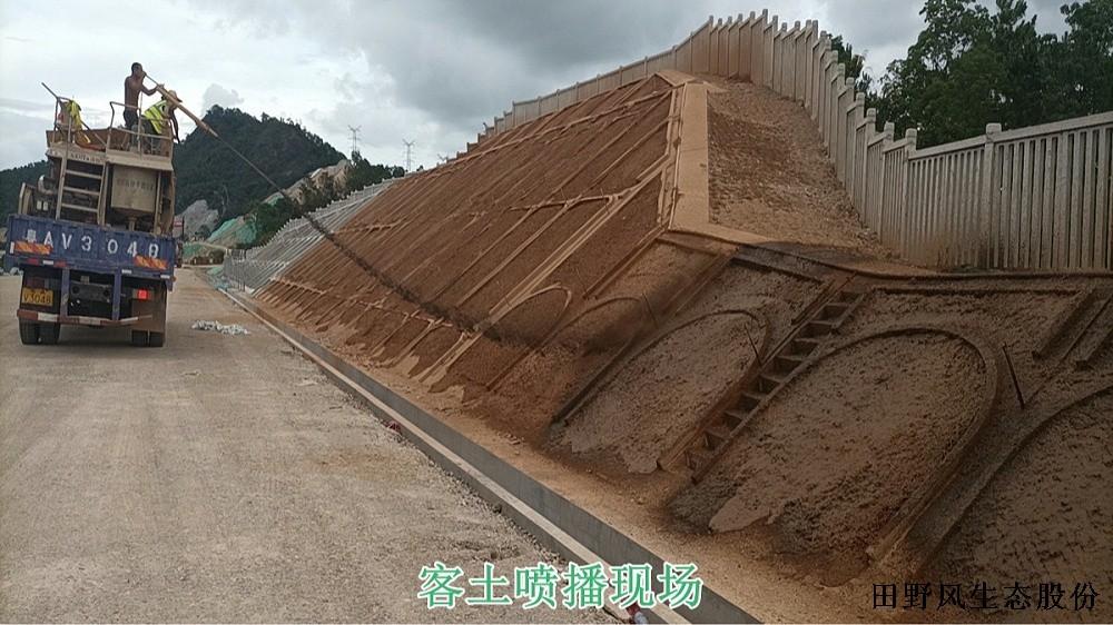 广汕高铁复绿工程