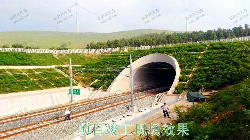 南昆高速铁路广西段铁路边坡修复工程