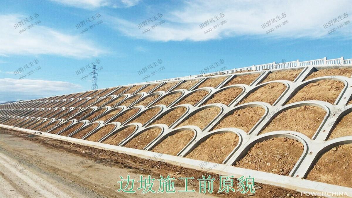 南昆高速铁路广西段铁路边坡绿化工程