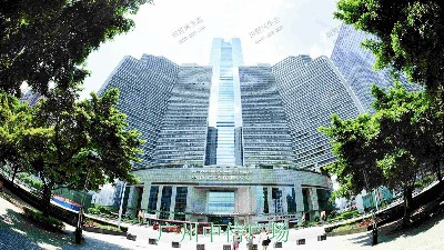 广州中信广场室内植物租赁合作展示