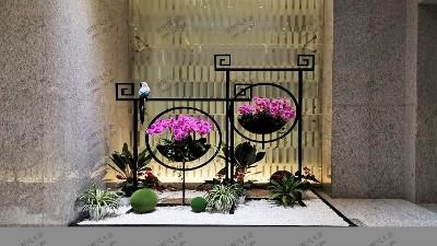 东方艺术创意插花