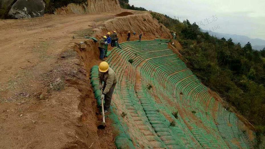 边坡绿化生态袋施工技术方案