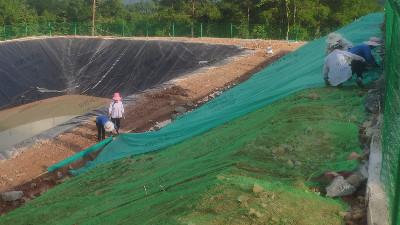 边坡复绿盖无纺布