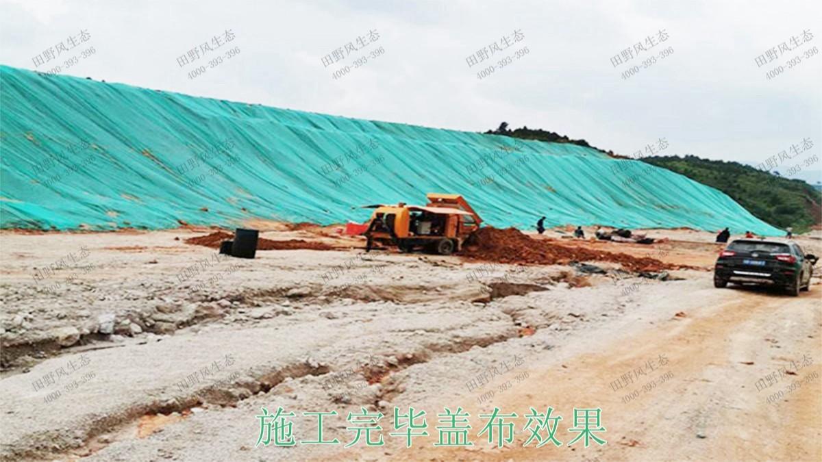 广东省新兴县山体滑坡生态修复工程