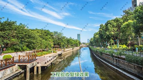 深圳茅洲河生态治理复绿工程