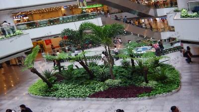 购物中心大型组合景观