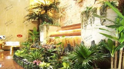 酒店室内大型组合景观