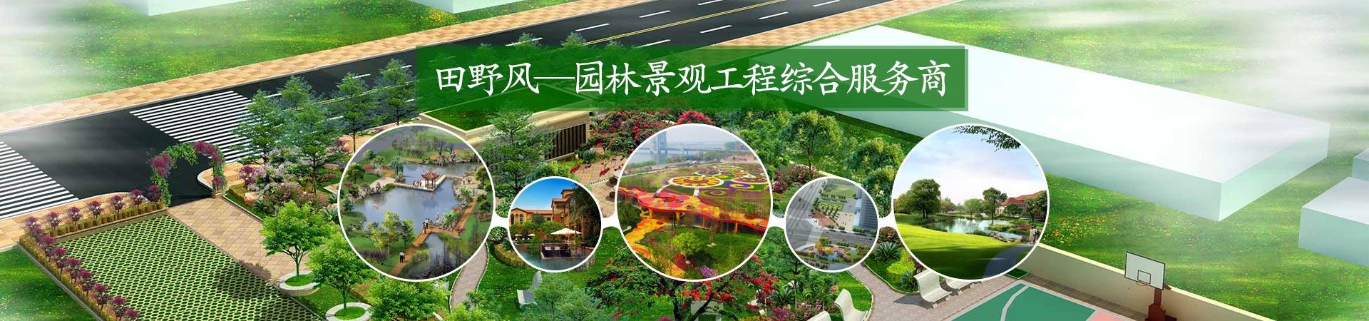 田野风-园林景观工程综合服务商