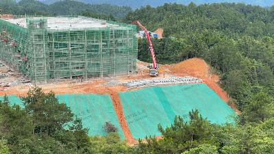 榕江县益豚生态农业有限公司边坡复绿二期工程施工进场