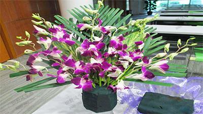 花扇型插花