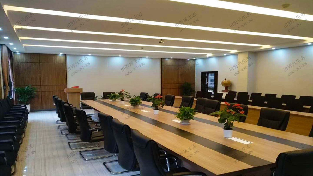 广州国际工程公司绿植租赁案例