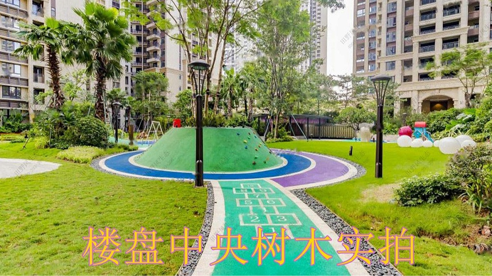 广州华发售楼中心绿植花卉租摆案例