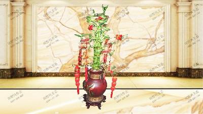 富贵竹(造型)