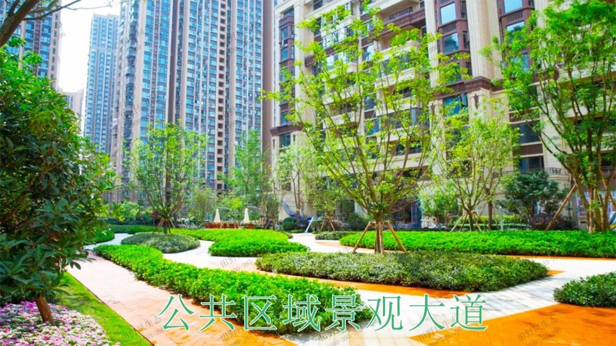 重庆龙湖地产园林景观工程