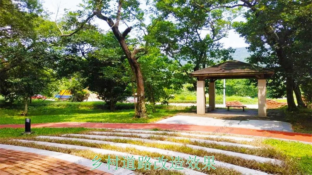 珠海金湾区美丽乡村绿化项目