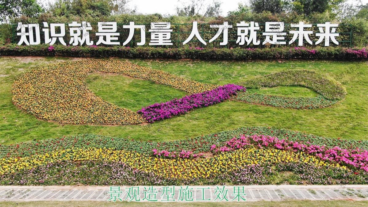 广州黄埔九龙大道园林工程