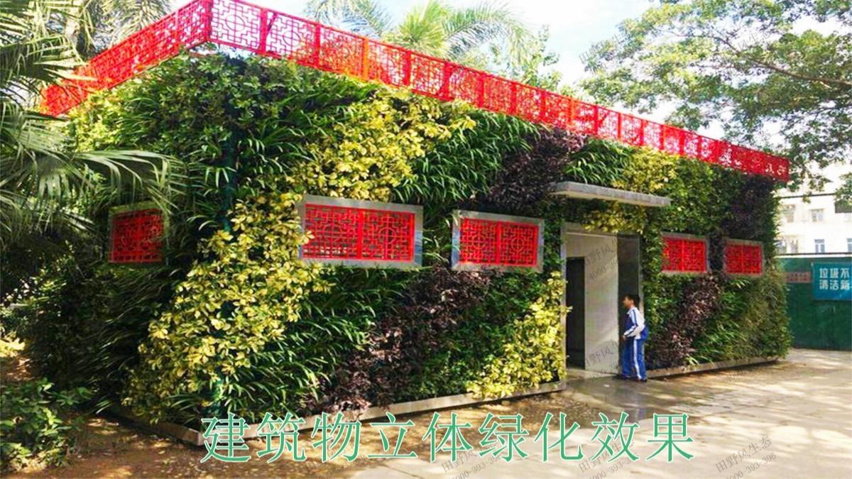 广州黄埔立体绿化建设工程