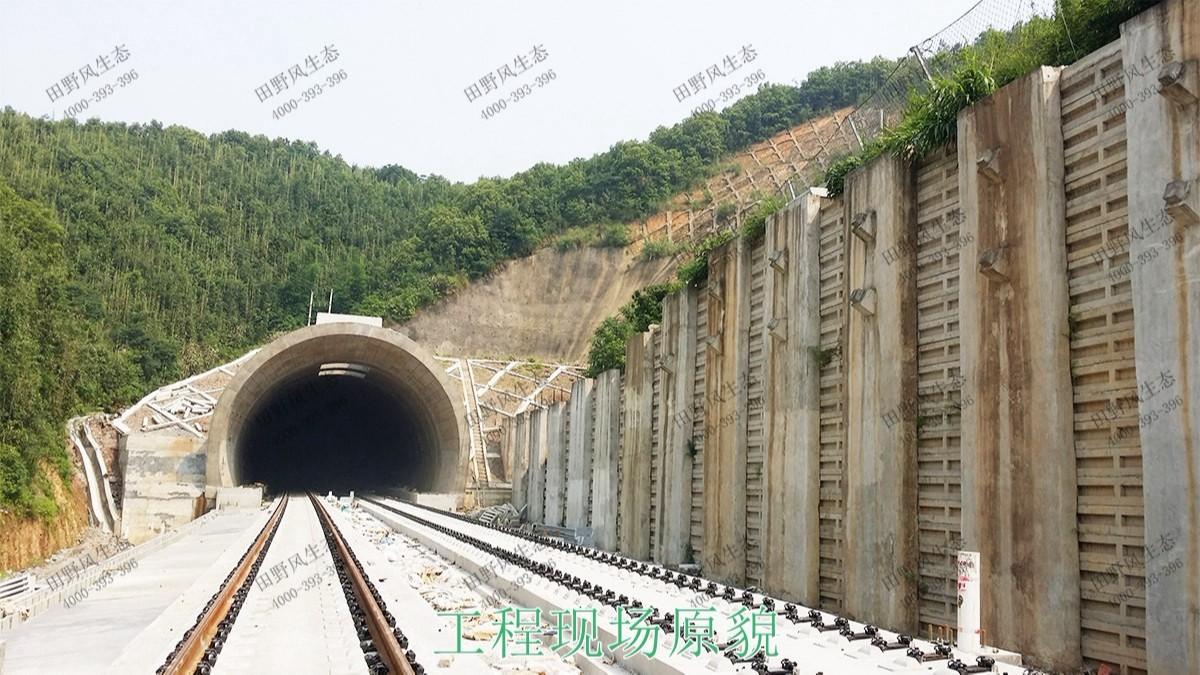 贵广高铁广东段铁路边坡修复工程