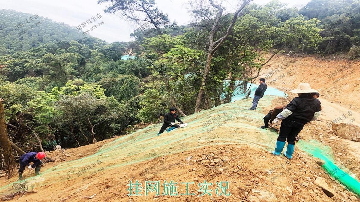 广州白水山森林公园生态修复
