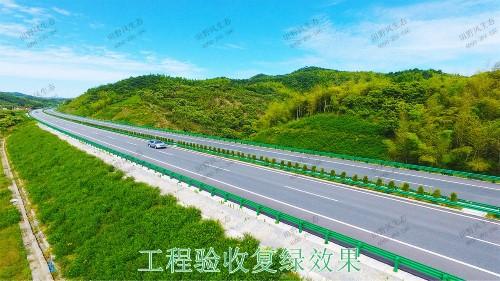 博深高速惠州段高速护坡复绿工程